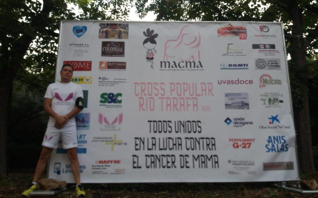 Manuela Fundación colabora con el Cross popular río Tarafa apoyando la lucha contra el cáncer de mama.