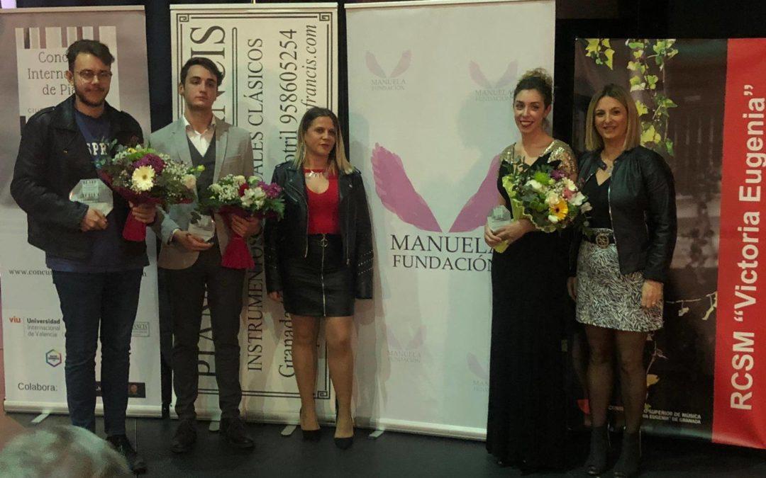 Manuela Fundación colabora con el Primer Concurso Internacional de Piano Ciudad de Almuñécar.