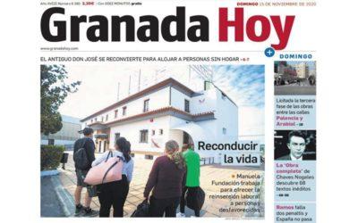 El Hospedaje Manuela Fundación abre en un tiempo record.